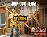 Employment Opportunities At Xtreme Home Improvement