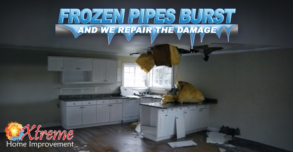 What To Do About Frozen Pipe Damage