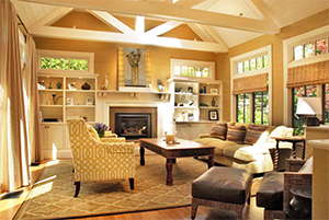 Living room remodeling performed by Xtreme Home Improvement in Palmyra, PA