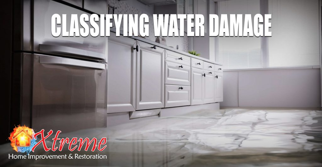 Classifying Water Damage
