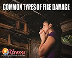 Types of Fire Damage